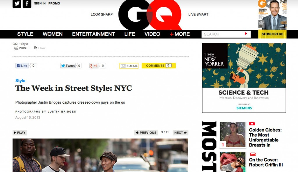 GQ The Week in Street Style August 16