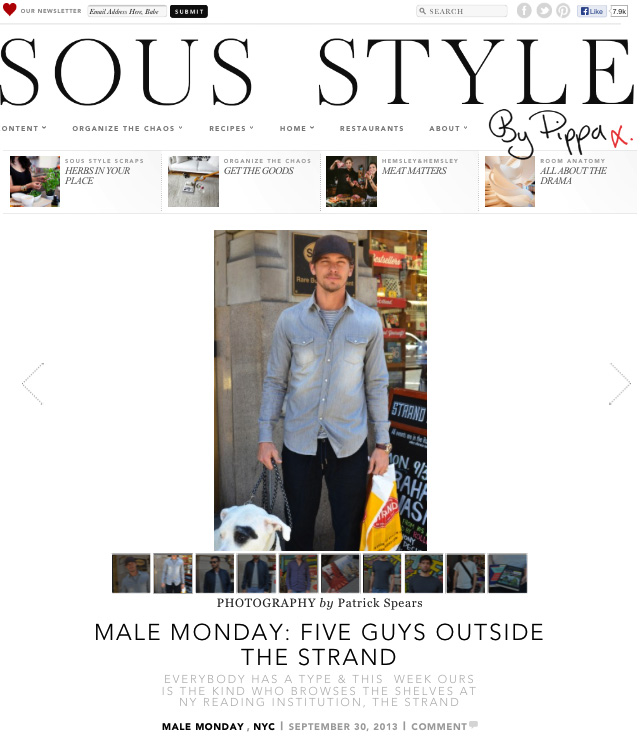 Sous Style 5 Guys Outside The Strand II