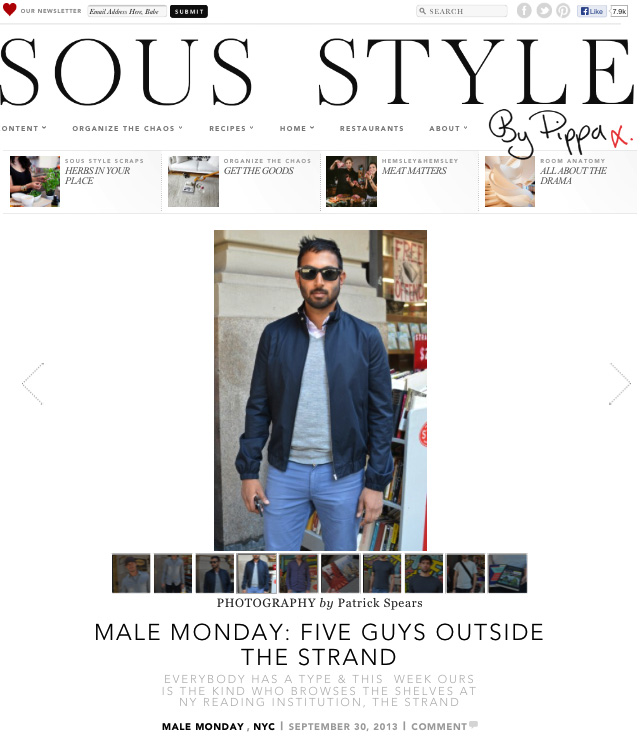 Sous Style 5 Guys Outside The Strand III