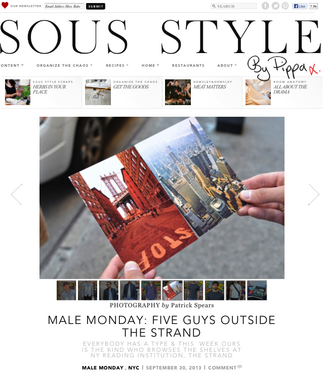 Sous Style 5 Guys Outside The Strand V