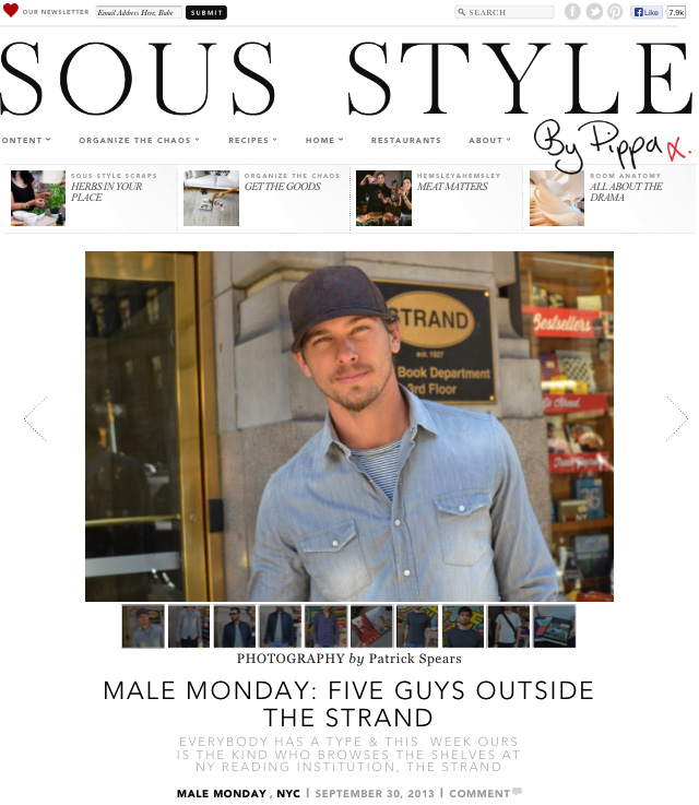 Sous Style 5 Guys Outside The Strand